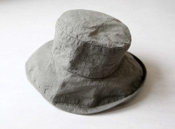 帽子 帽子/麻/リーノ・エ・リーナ/リトアニアリネン/lino e lina 【マノン】エルムグリーン