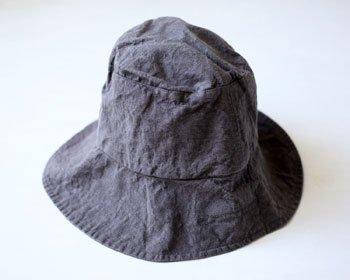 帽子 帽子/麻/リーノ・エ・リーナ/リトアニアリネン/lino e lina 【マノンビス】ポワブル