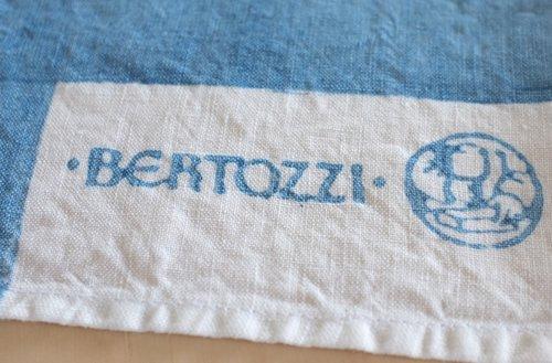キッチンクロス リネン(麻) イタリア製 ベルトッツイ インクローチョ 正方形 約46cmx約46cm