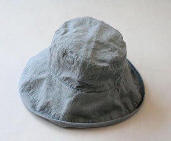 帽子 帽子/麻/リーノ・エ・リーナ/リトアニアリネン/linoelina【マノン】ブルーオリゾン