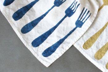 ランチョンマット リネン(麻) イタリア製 フォルケッティ インダコスクーロ ティーリオ