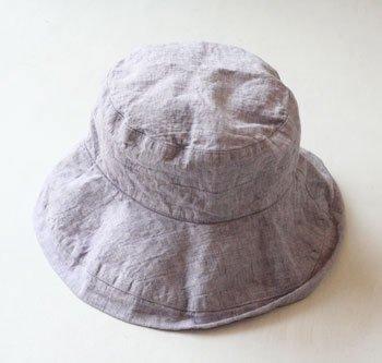 帽子 帽子/麻/リーノ・エ・リーナ/リトアニアリネン/linoelina【マノン】リラ