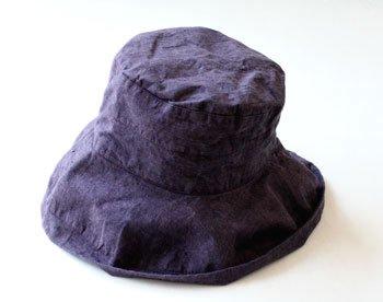 帽子 帽子/麻/リーノ・エ・リーナ/リトアニアリネン/linoelina【マノン】レザン