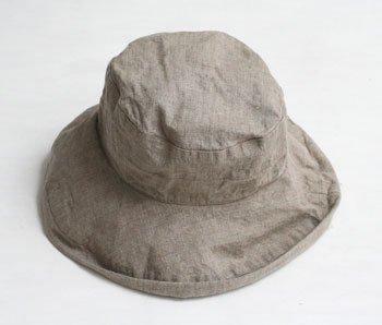 帽子 帽子/麻/リーノ・エ・リーナ/リトアニアリネン/linoelina【マノン】フラックス