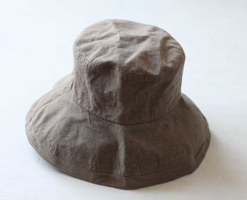 帽子 リネン(麻) リトアニアリネン マノン オリヴィエ