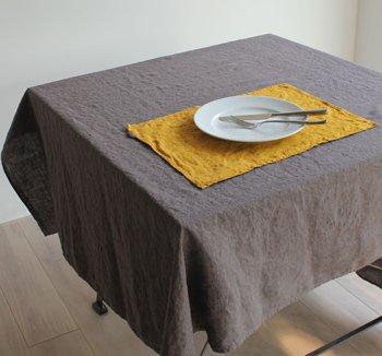 テーブルクロス リネン(麻) リトアニアリネン ターキッシュカフェ