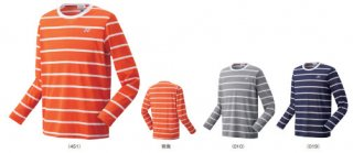 YONEX 16466(長袖Tシャツ フィットスタイル)