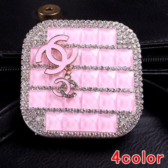 CHANEL&シャネル コンタクトレンズ カラコン バッグ ダイヤモンド おしゃれ 創意品 可愛い 高級感 送料無料