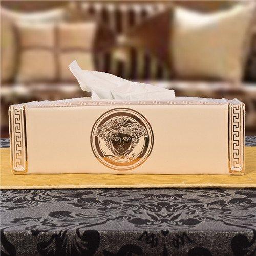 ヴェルサーチ ティッシュケース セラミック 陶器製 Versace ティッシュボックス 男女兼用 車内飾りもの ブランド エレガンス 精緻 送料…