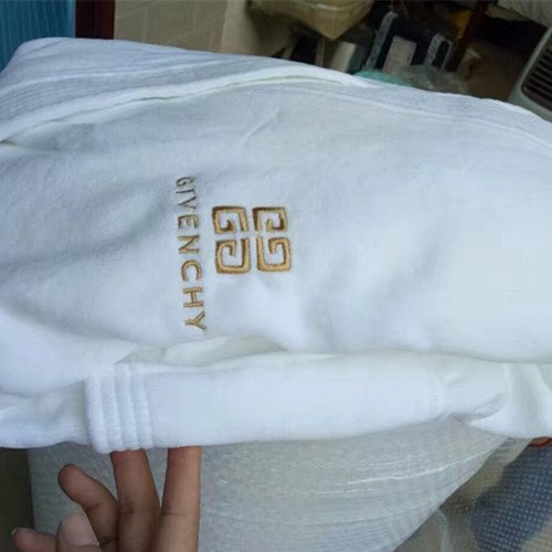 ジバンシー★GIVENCHY高級 二重刺繍 綿 ネグリジェ バスローブ パジャマ コットン 浴衣柔らかい 送料無料…