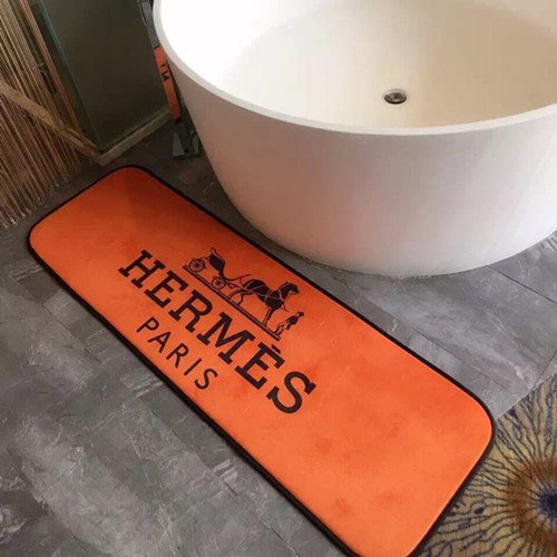エルメス★HERMES  カーペット 玄関マット マット 絨毯 浴室/寝室/ベッドサイド/玄関/応接間マット 滑り止め インテリア ラグ 人気 送料無料…