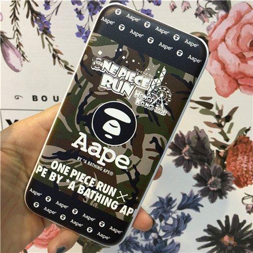 エイプ スマホ充電池 携帯充電器 Bape boyモバイルバッテリー  iPhone、サムスン通用  タイプ ミニタイプ 移動電源 送料無料