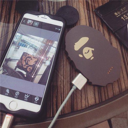 ベイプ スマホ充電池 携帯充電器 Bape モバイルバッテリー  iPhone、サムスン通用タイプ ミニタイプ 移動電源 送料無料