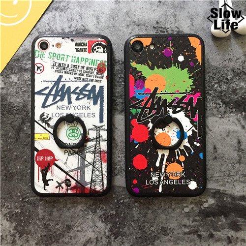 STUSSY&ステューシー 2色 iPhone6/6sケース iPhone7/7plusケース iPhone6plus/6splusケース  スマホケース iPhoneカバー 送料無料