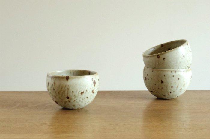 フリーカップ(丸)/粉引き ヤマシタマユ美