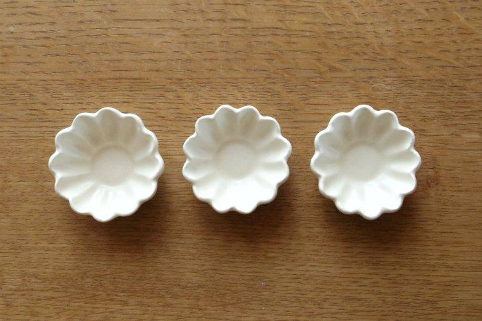 花豆鉢/白 鈴木しのぶ