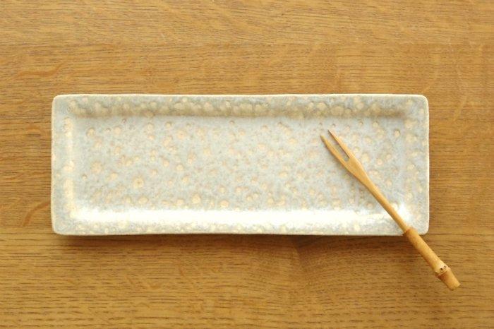 角プレート(細)/結晶黄緑 寺嶋綾子
