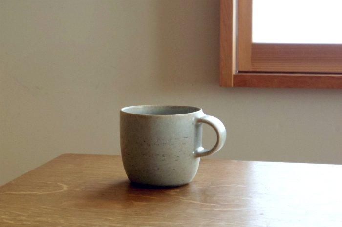 マグカップ(小)/青 寺嶋綾子
