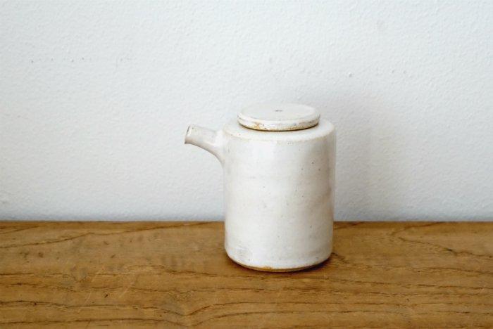 醤油差し/白釉 イット窯