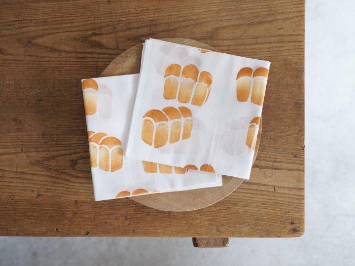 手ぬぐい/山型食パン アケモドロ