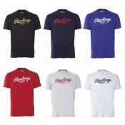【Rawlings】ローリングス ジュニア用 ロゴTシャツ ast8s12j