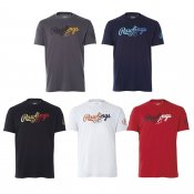 【Rawlings】ローリングス コンビロゴTシャツ ast8s10
