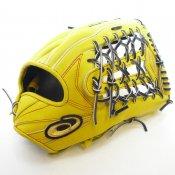 【asics】アシックス 野球館オリジナル 硬式グローブ ゴールドステージ 外野手用 オーダーグラブ asics-21