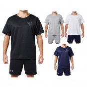 【underarmour】アンダーアーマー ベースボールTシャツ 9ストロングショートスリーブクルー 1313579