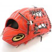 【asics】アシックス 野球館オリジナル 硬式グローブ ゴールドステージ外野手用 オーダーグラブ asics-44