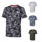 【underarmour】アンダーアーマー ジュニア用 ベースボールTシャツ カモ 1313616