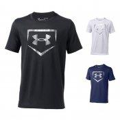 【underarmour】アンダーアーマー ジュニア用 ベースボールTシャツ テックショートスリーブ 1313617