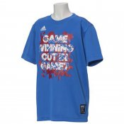 【adidas】アディダス ジュニア 5T タイポグラフTシャツ GAME7 ety05