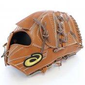 【asics】アシックス 野球館オリジナル 硬式グローブ ゴールドステージ投手用 オーダーグラブ asics-53