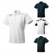 【SSK】エスエスケイ プロエッジ ボタンダウンポロシャツ 左胸ポケット付き drf182