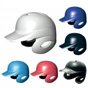 【SSK】エスエスケイ ソフトボール用バッティングヘルメット 両耳付 h6500