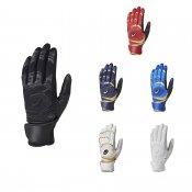 【asics】アシックス ゴールドステージ 限定 バッティング手袋 スピードアクセル 両手用 beg180