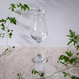 長い夜にゆっくりと傾ける、自分だけのためのグラス/Vintage Taisting Glass with Lid