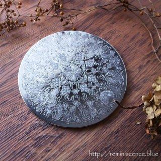 シルバーで彩られる優雅な装飾/ Vintage Silver Plated Table Place Mat A