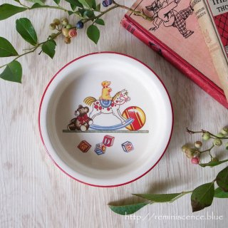微笑みを誘う無邪気な存在 / Vintage Tiffany Toy Cereal Bowl by MASON'S