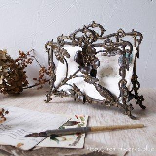 日々に満ちる慰めと喜び / Antique  Art Nouveau Letter Rack