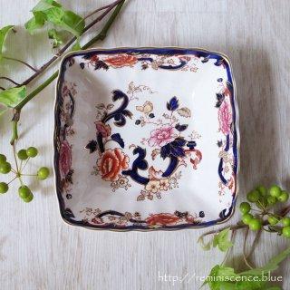 ホームズが愛したヴィクトリアンの東洋趣味/MASON'S Mandaley Blue Sweet Dish