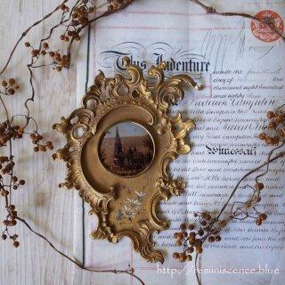 ドイツ・ロココの粋を集めた天上からの一滴 / Antique Rococo Style Frame