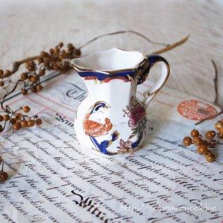 ヴィクトリアンの東洋趣味薫る小さな泉 / MASON'S Mandaley Blue Milk Pitcher