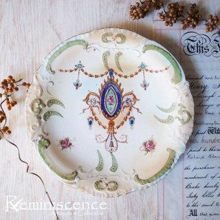 古き良きエドワーディアンの絵皿 / Antique Edwardian Plate by S.Fielding & Co