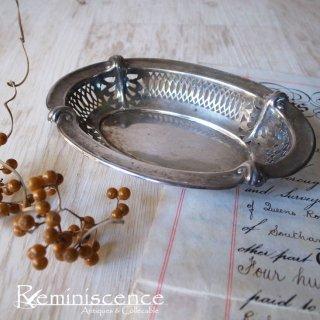 エドワーディアンを記憶するオーバル / Antique Edwardian Silver Plated Oval Dish