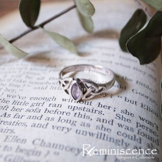 Vintage Sterling Silver Triquetra Ring