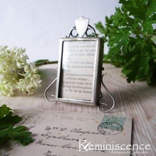 大切なものを大切に飾ろう / Antique Silver Plated Photo Frame