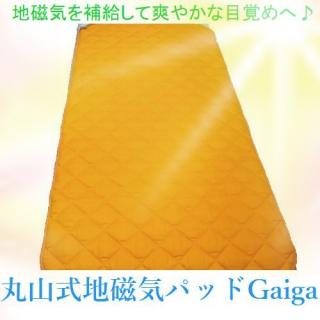丸山式地磁気ベッドパッドGaiga(ガイガ)セミダブルサイズ