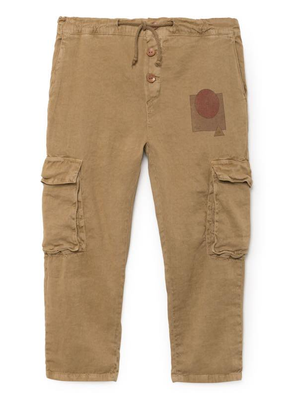 <img class='new_mark_img1' src='//img.shop-pro.jp/img/new/icons20.gif' style='border:none;display:inline;margin:0px;padding:0px;width:auto;' />BOBO CHOSES 18SS know CargoLinen Pants