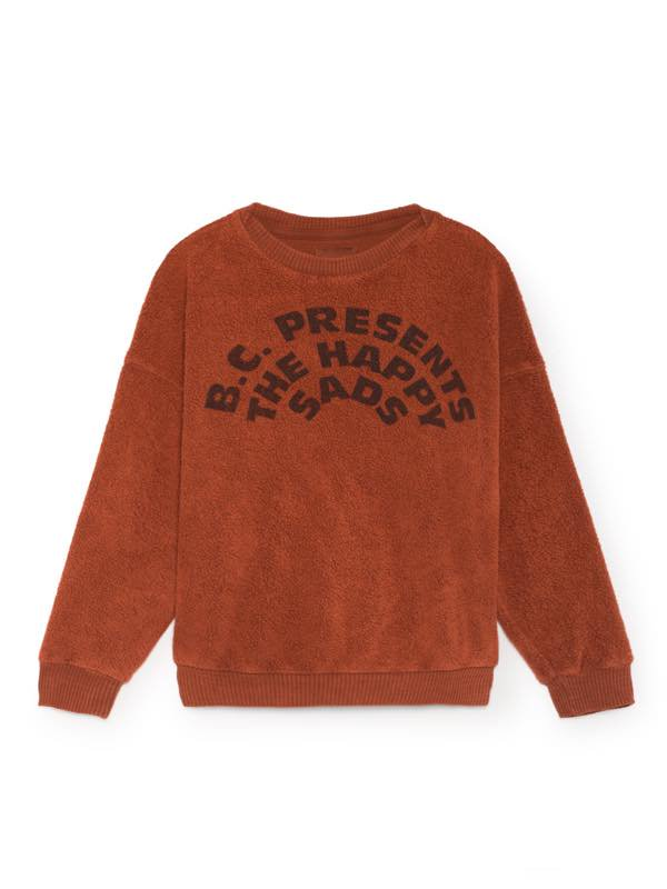 <img class='new_mark_img1' src='//img.shop-pro.jp/img/new/icons13.gif' style='border:none;display:inline;margin:0px;padding:0px;width:auto;' />BOBO CHOSES AW18   The Happy Sads Round Neck Sweatsh